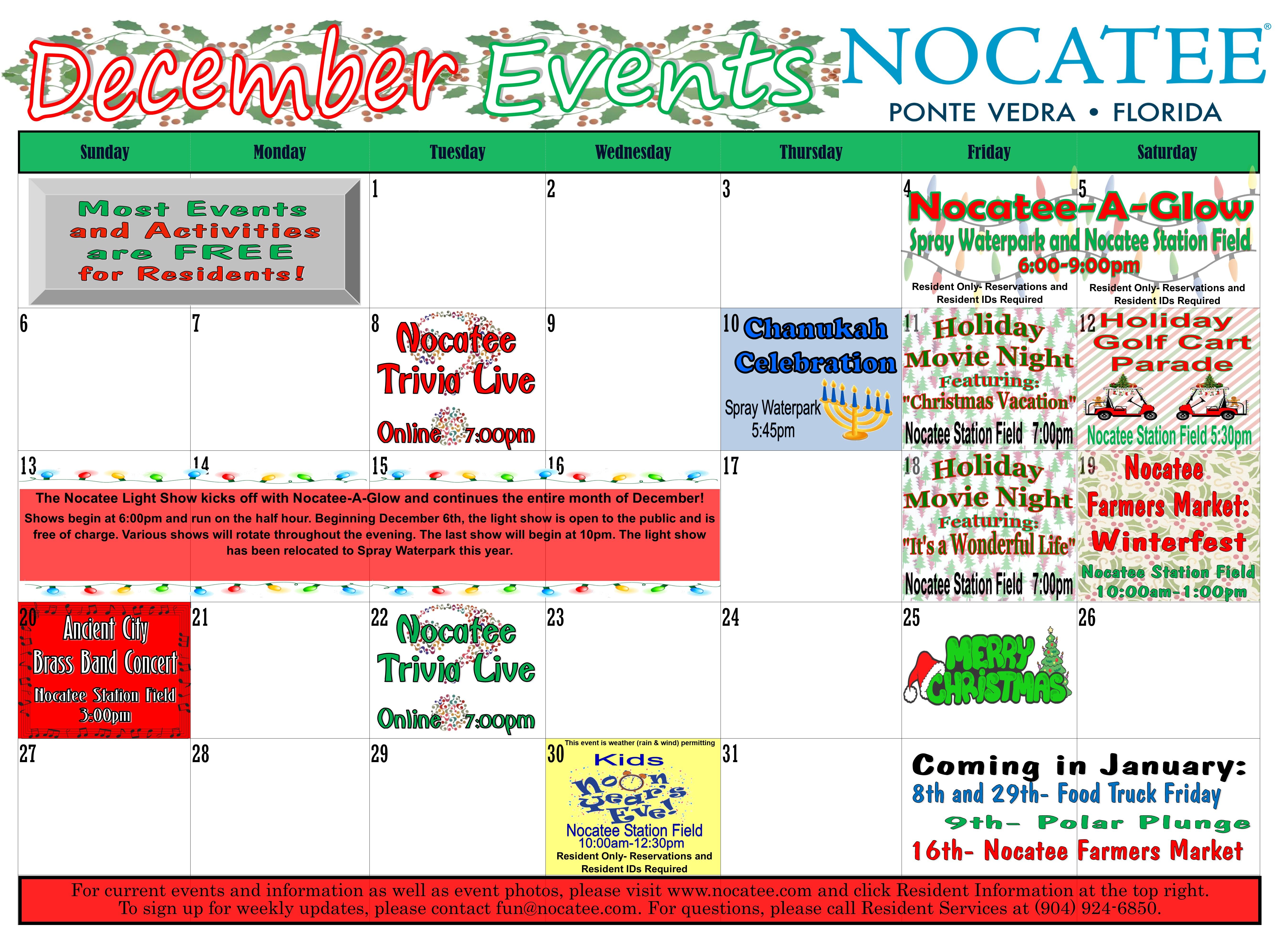 December2020 events
