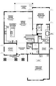 Anna Maria Carolina Floor Plan Coastal Oaks Nocatee