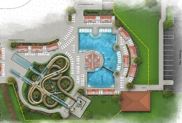 Nocatee Spray Park Waterslide Concept V2-Model-cropped