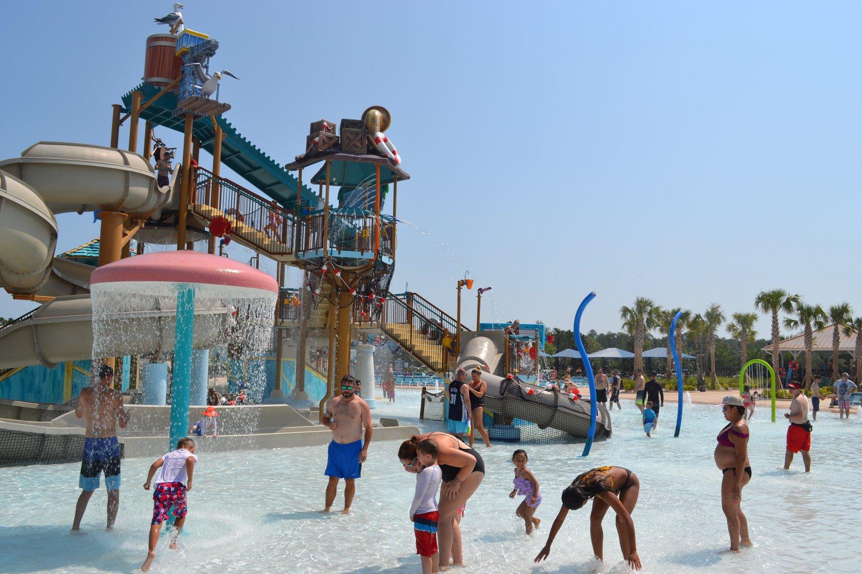 Spray Water Park