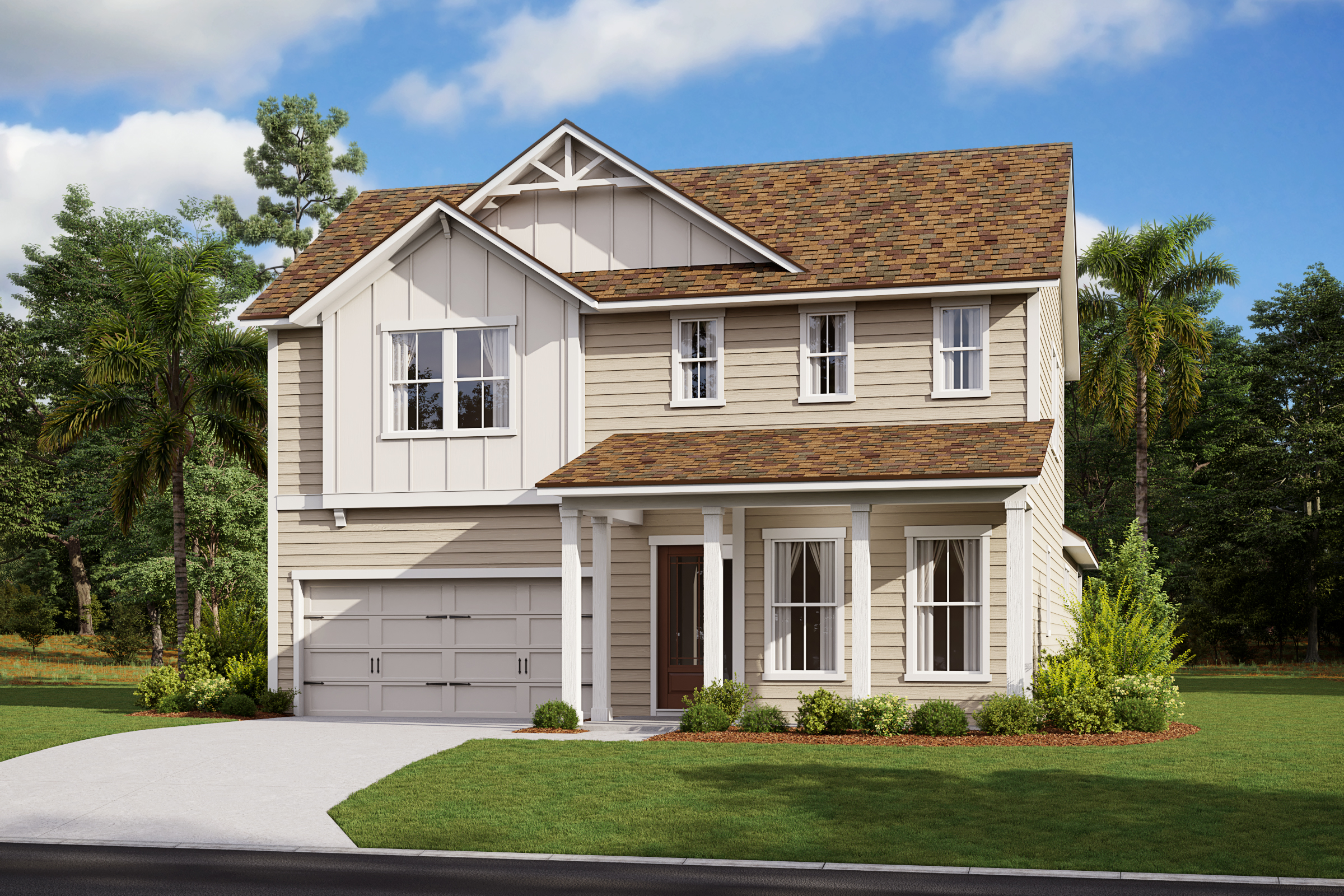 Gilchrist-Florida Farmhouse-Elevation