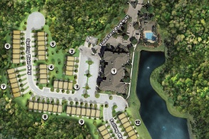 Tidewater Townhomes at Nocatee Site Plan
