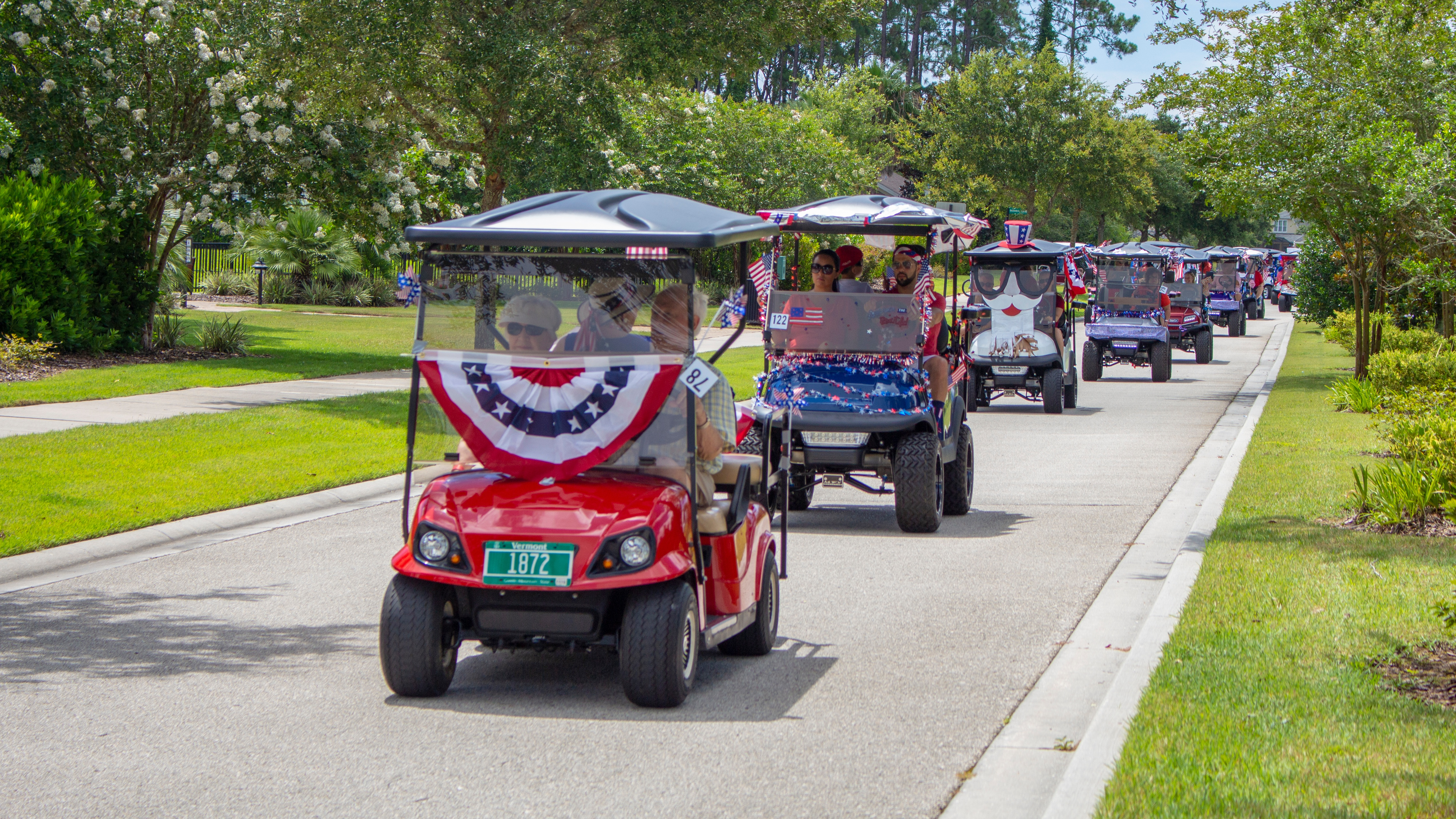 4th of July Parade & Fetivities 2018 Nocatee
