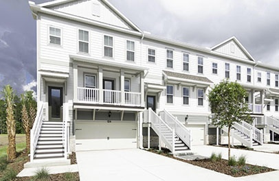 Tidewater Gated Townhomes Nocatee
