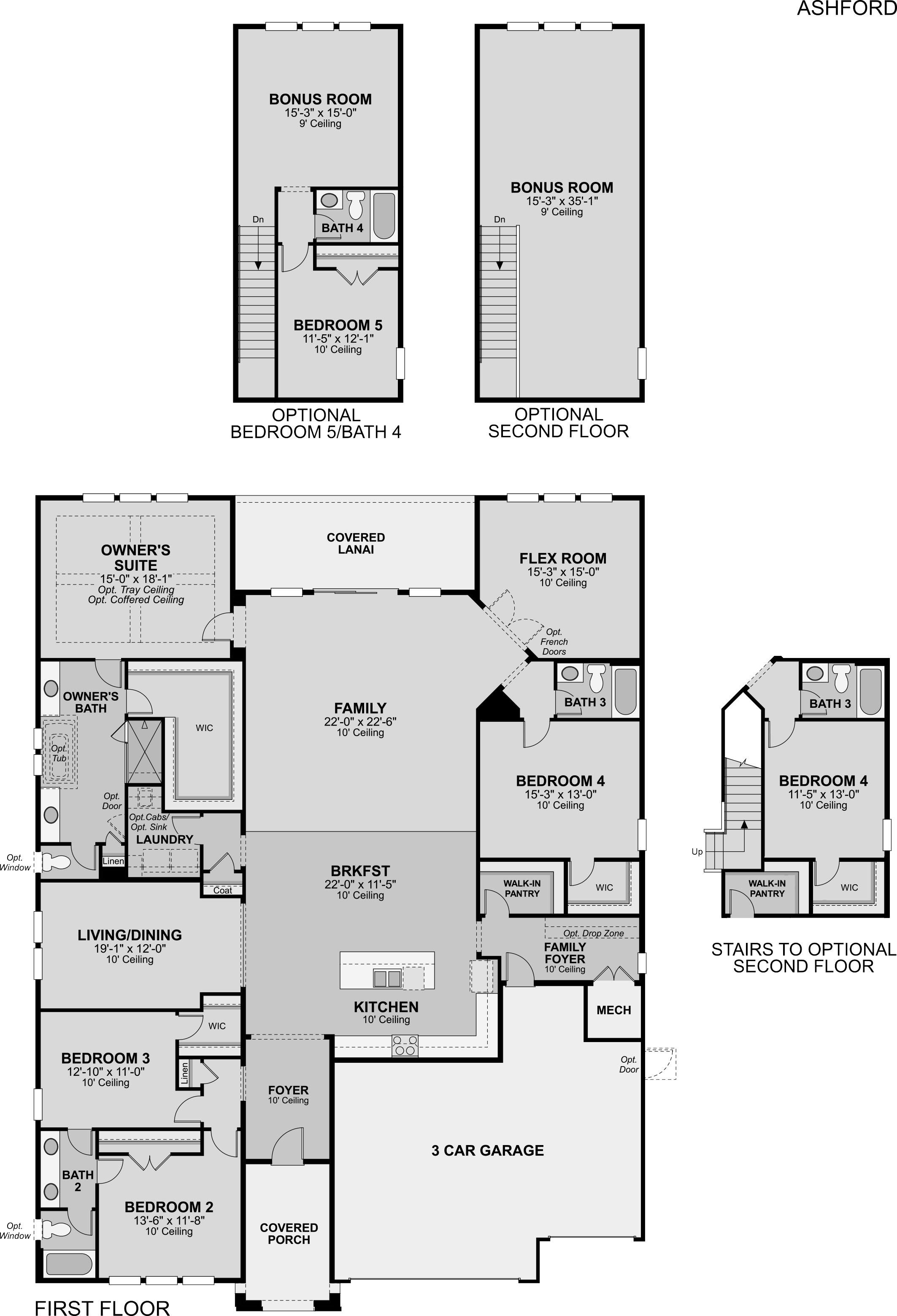 Ashford Floor Plan   Nocatee