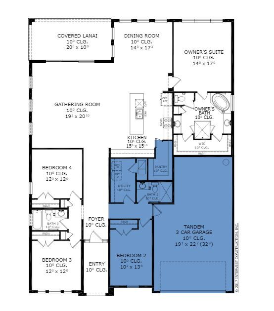 Arden floor plan ici homes the island at twenty mile for Ici floor plans