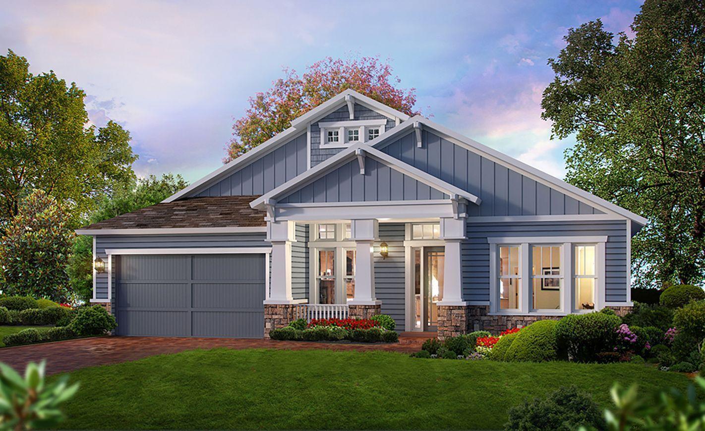 Costa Mesa Floor Plan | ICI Homes| The Island at Twenty Mile | Nocatee