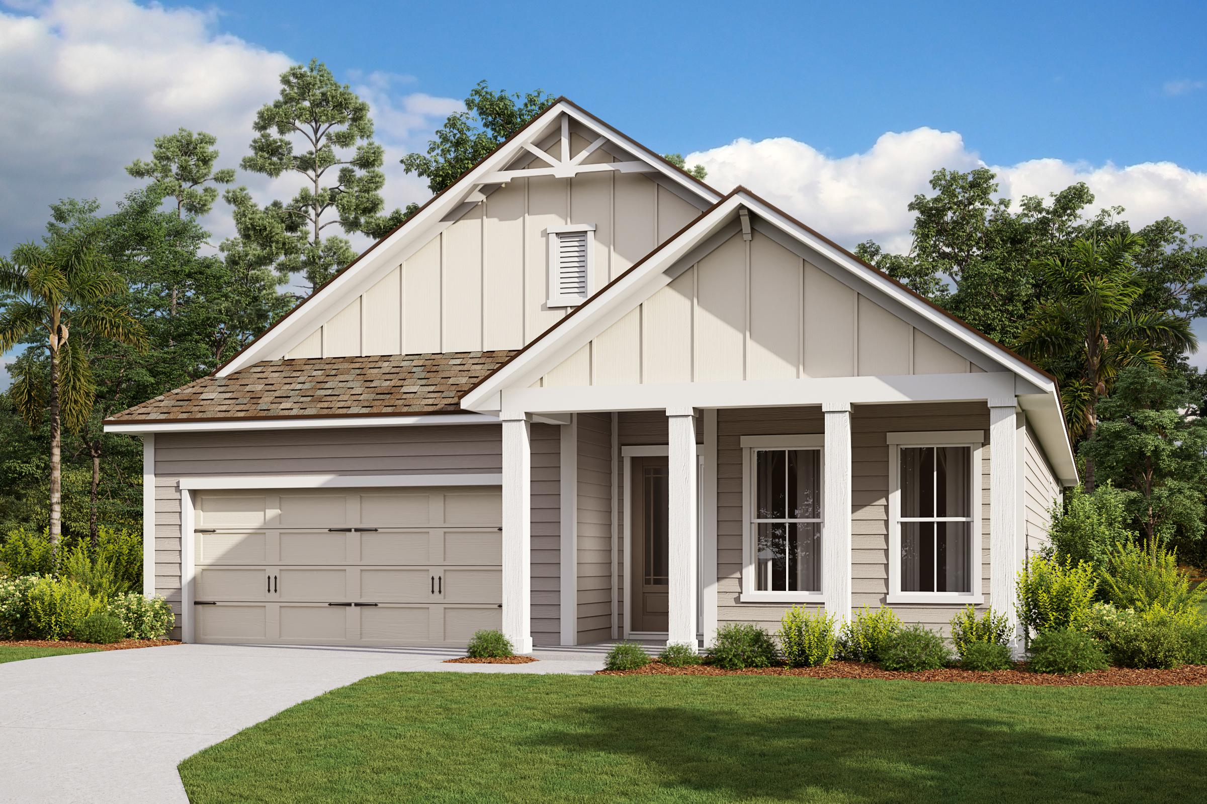 Royal-Florida Farmhouse-Elevation